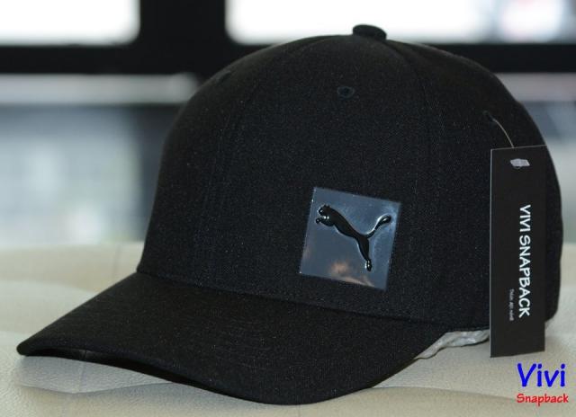 Puma Decimal Fitted Cap Black