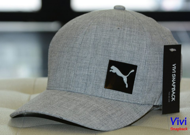 Puma Decimal Fitted Cap Grey