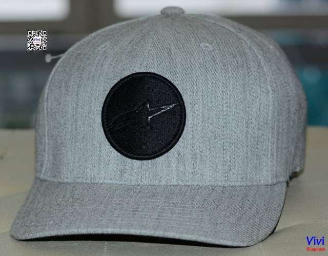 Alpinestars Grey Fitted Cap