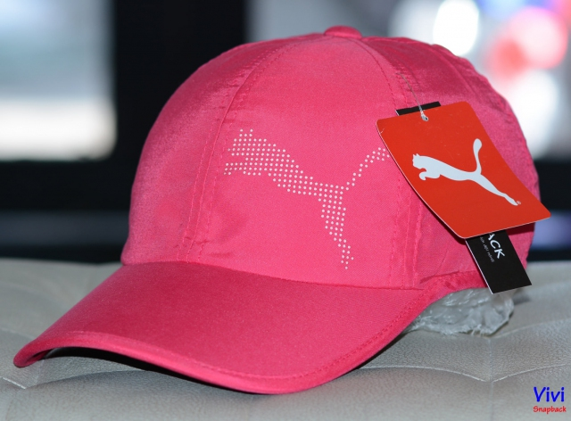 Nón Puma Tech Cat Adjustable Cap Rose Red-Pink