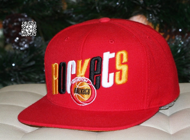 Mitchell & Ness Rockets Snapback Red