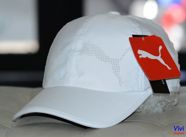Nón Puma Tech Cat Adjustable Cap white