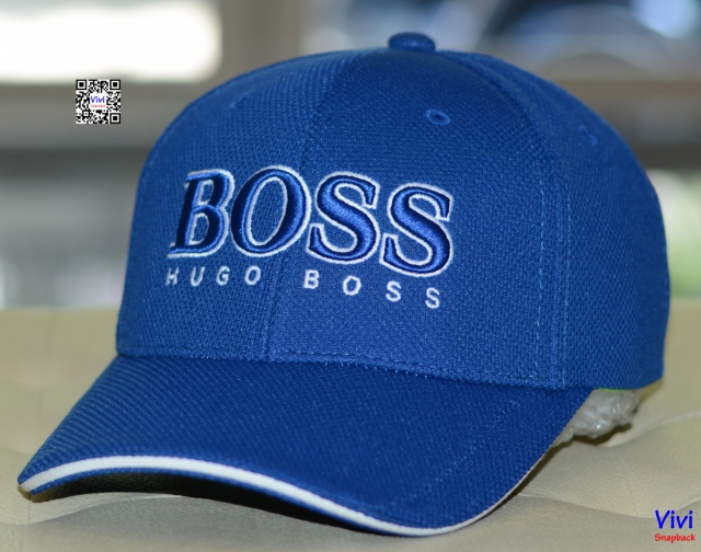Hugo Boss 3D Logo Performance Black Cap US  By Boss Green