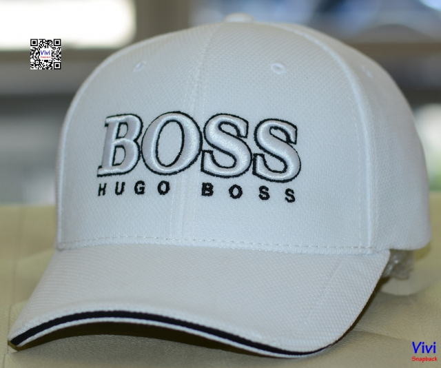 Hugo Boss 3D Logo Performance White Cap US  By Boss Green