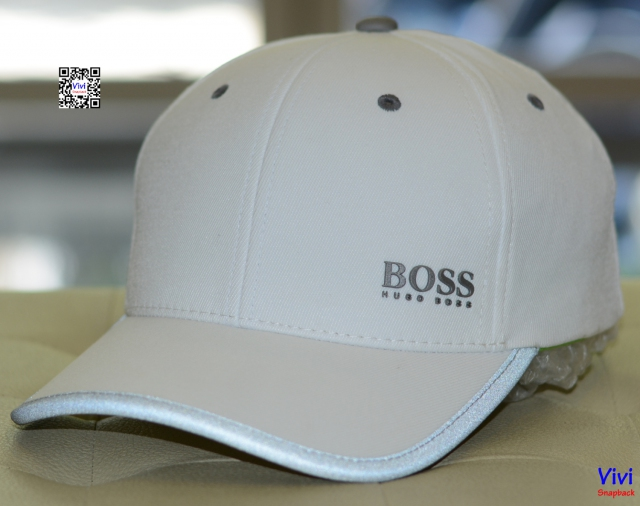 Hugo Boss Green Catch Cap White