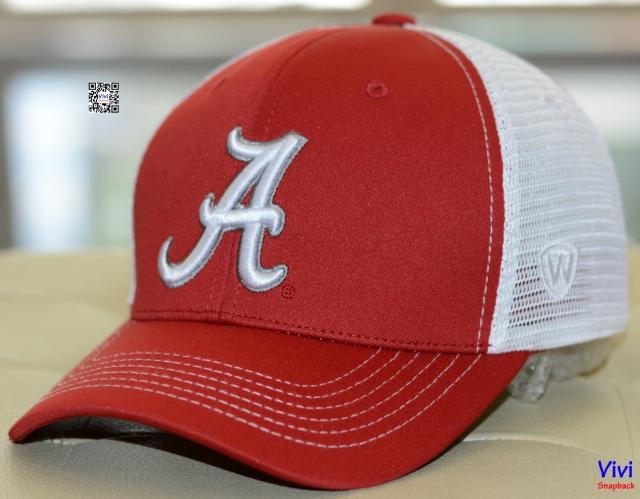 Nón lưới Alabama chữ