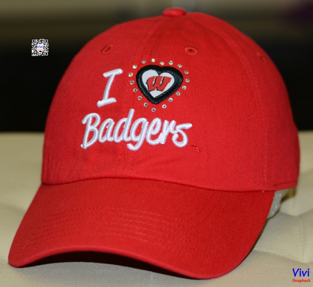 Nón kết Badgers Red