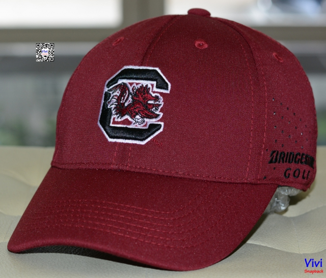 Bridgestone Golf South Carolina Gamecocks Fitted Perforated Cap