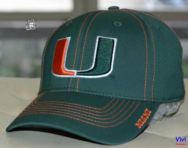 Miami Start Line OTS Center Stretch Fit Hat