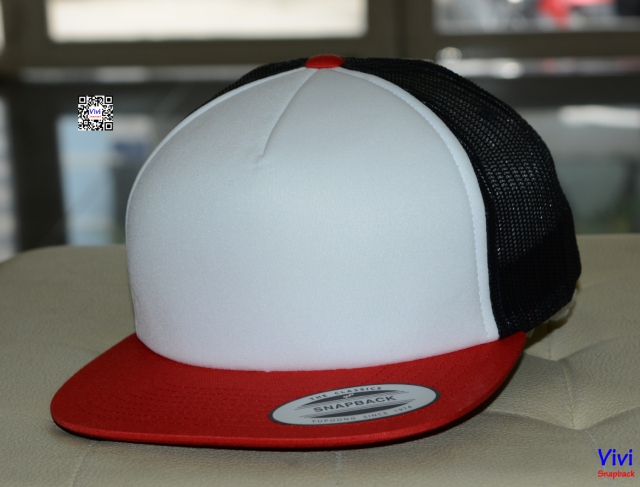 The Classic Yupoong Color Trucker Snapback