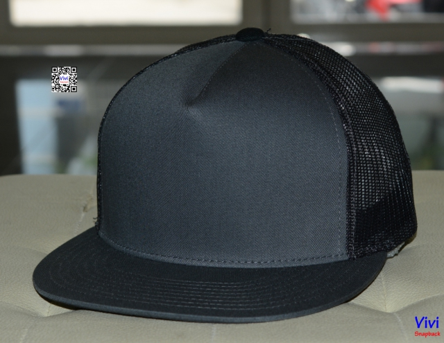 The Classic Yupoong Trucker Snapback Grey