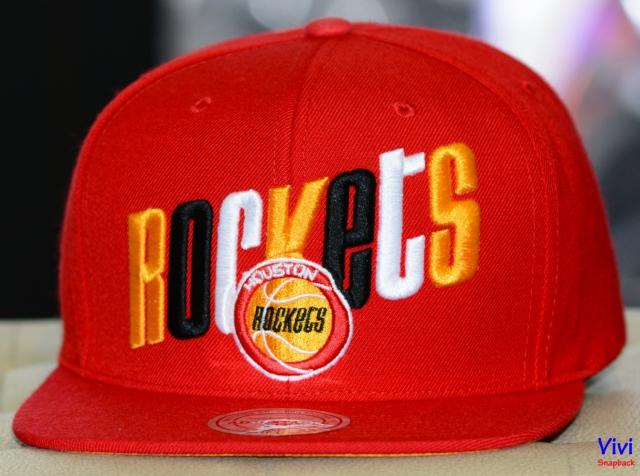 Mitchell & Ness Houston Rockets Team Logo Snapback