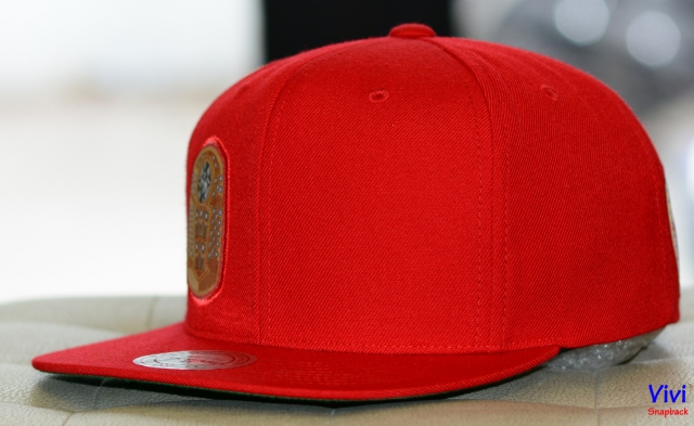 Mitchell & Ness Chicago Bulls Champion Rings Snapback Red