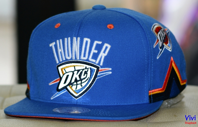 Mitchell & Ness Oklahoma City Thunder Game Day Snapback