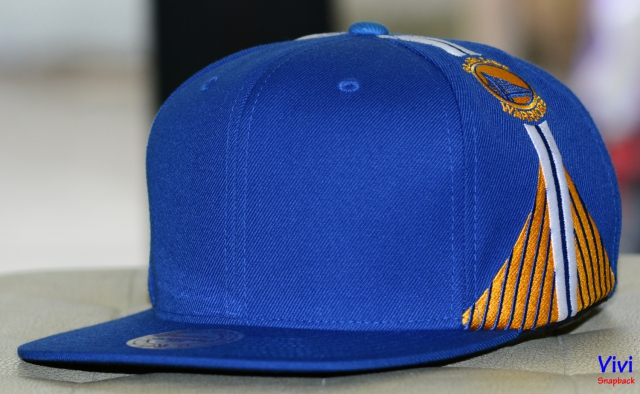 Mitchell & Ness Golden State Warriors Blank Font Snapback