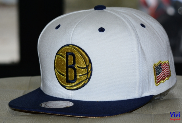 Mitchell & Ness Brooklyn Nets NBA USA 2Tone 2.0 Snapback