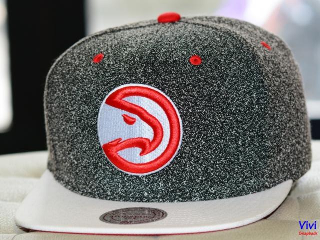 Mitchell & Ness Atlanta Hawks NBA Static 2Tone Snapback