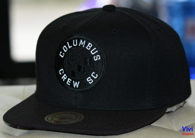 Mitchell & Ness Columbus Crew SC Snapback Black