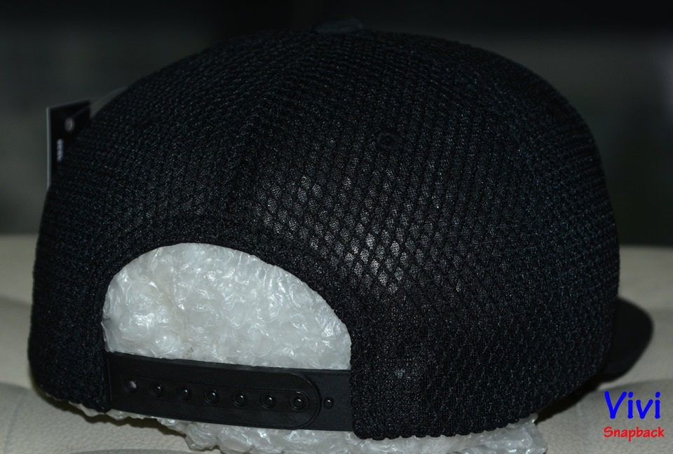Non snapback bit duoi,nón snapback bít đuôi,snapback lưới,snapback màu đen,nón big size,nón trơn
